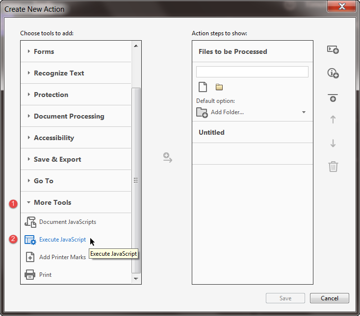 FormMagic: Creating a Batch Action in Acrobat | Id-Extras com