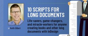 Snip from InDesign Magazine article