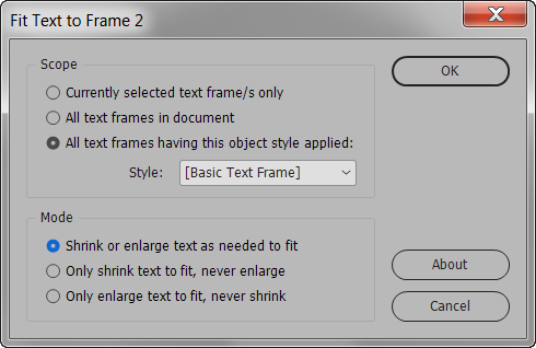 Fit Text to Frame | Id-Extras com