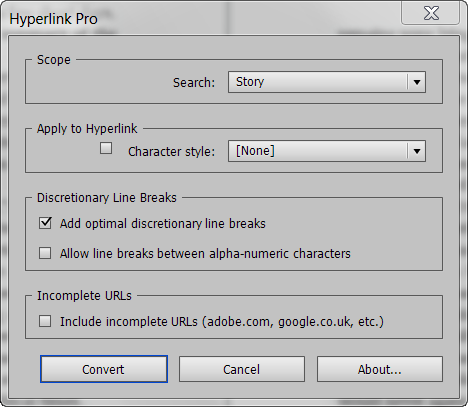 Hyperlink Pro Screenshot