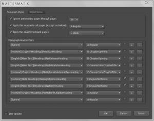 Mastermatic UI